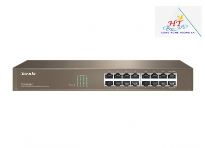 SWITCH TENDA TEG1016D 16-PORT GIGABIT ETHERNET SWITCH